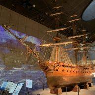 リニューアルした海洋博物館のエントランス