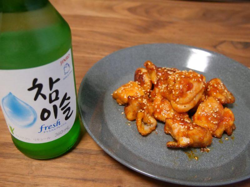 韓国焼酎には、辛みのある料理をお忘れなく!(写真:ラジオ関西)