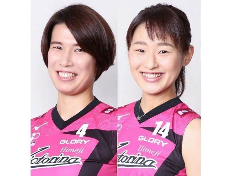 浅津選手、高木選手