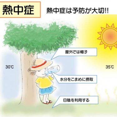 コロナ禍の夏、熱中症にかからないために