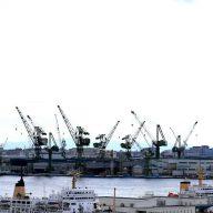 神戸港・クレーン