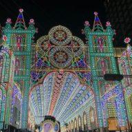 過去の神戸ルミナリエのようす(写真:ラジオ関西)