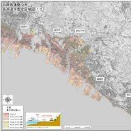 高潮浸水想定区域 画像・兵庫県提供