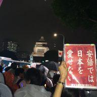 国会デモ 2015年9月16~17日
