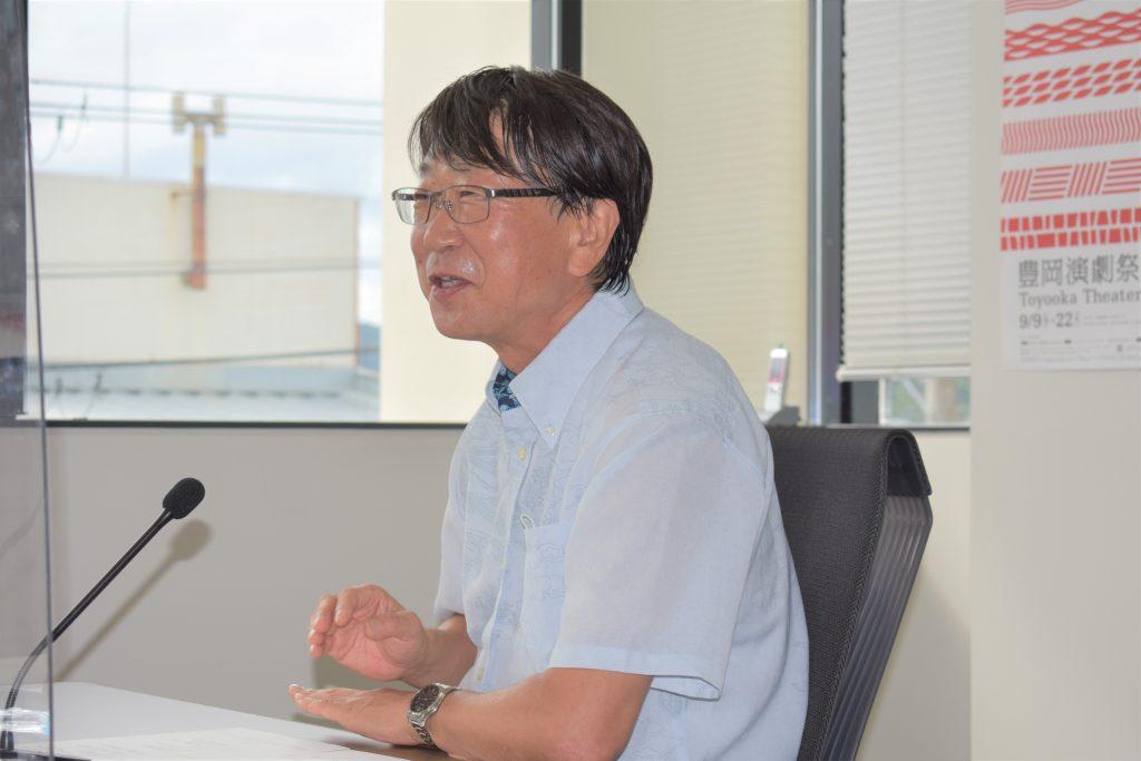 中貝宗治豊岡市長(写真:ラジオ関西)