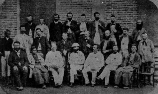 お雇い外国人技師 1869(明治2)年撮影 ※写真提供・海上保安庁