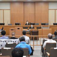 神戸地裁(写真・代表撮影 2020年10月12日午前)