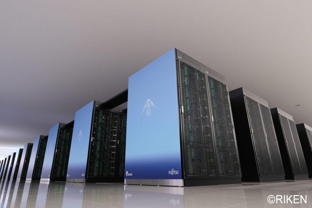 理化学研究所のスーパーコンピュータ「富岳」