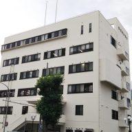 兵庫県警・灘警察署(神戸市灘区水道筋)