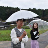 藤本圭一郎さん(写真左)と津田明日香アナウンサー(写真右)