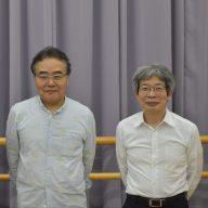 岩松了さん(写真中)と平田オリザさん(写真右)(写真:ラジオ関西)