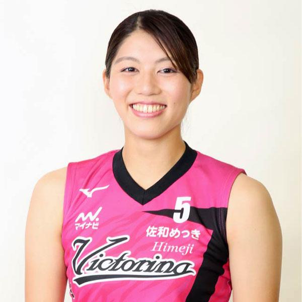 長野有紗選手(©2020 ヴィクトリーナ姫路)