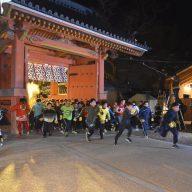 毎年多くの参加者でにぎわう西宮神社の福男えらび。令和3年は中止に
