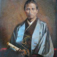 勝海舟肖像画〈※髙山みな子さん提供〉