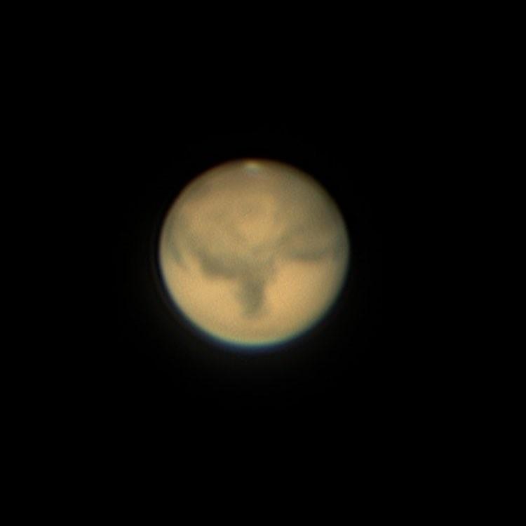 火星(写真提供:明石市立天文科学館 井上毅)