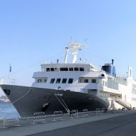 代替運航する「ルミナス神戸2」(※写真は2020年3月撮影)
