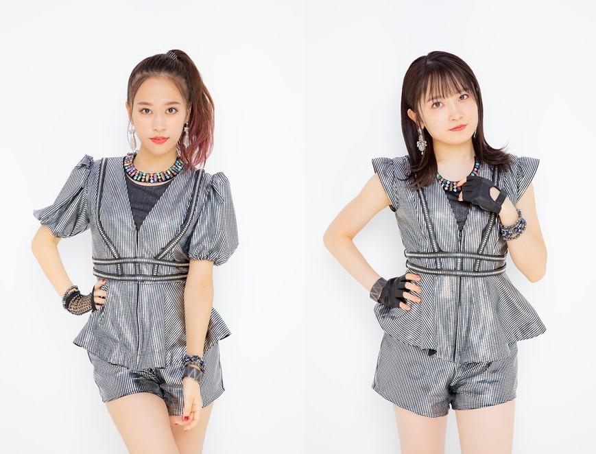 写真左から、モーニング娘。'21(小田さくら、森戸知沙希)(UP-FRONT WORKS)