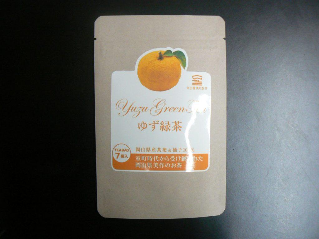 ゆず緑茶(写真提供:海田園黒坂製茶)