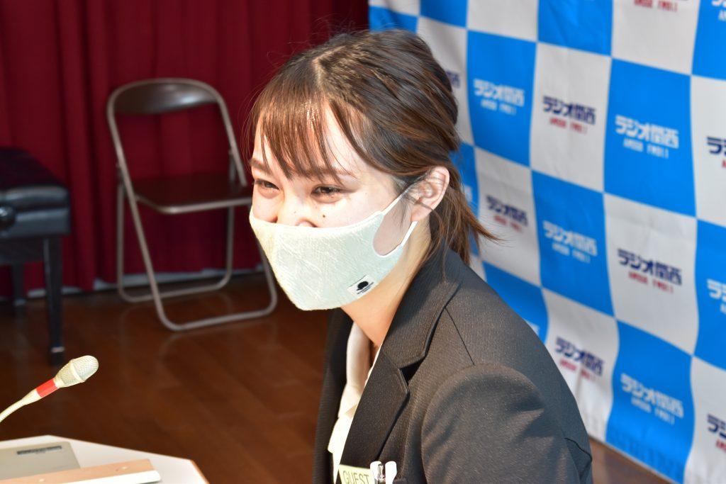 藤井電工株式会社の志方葵さん