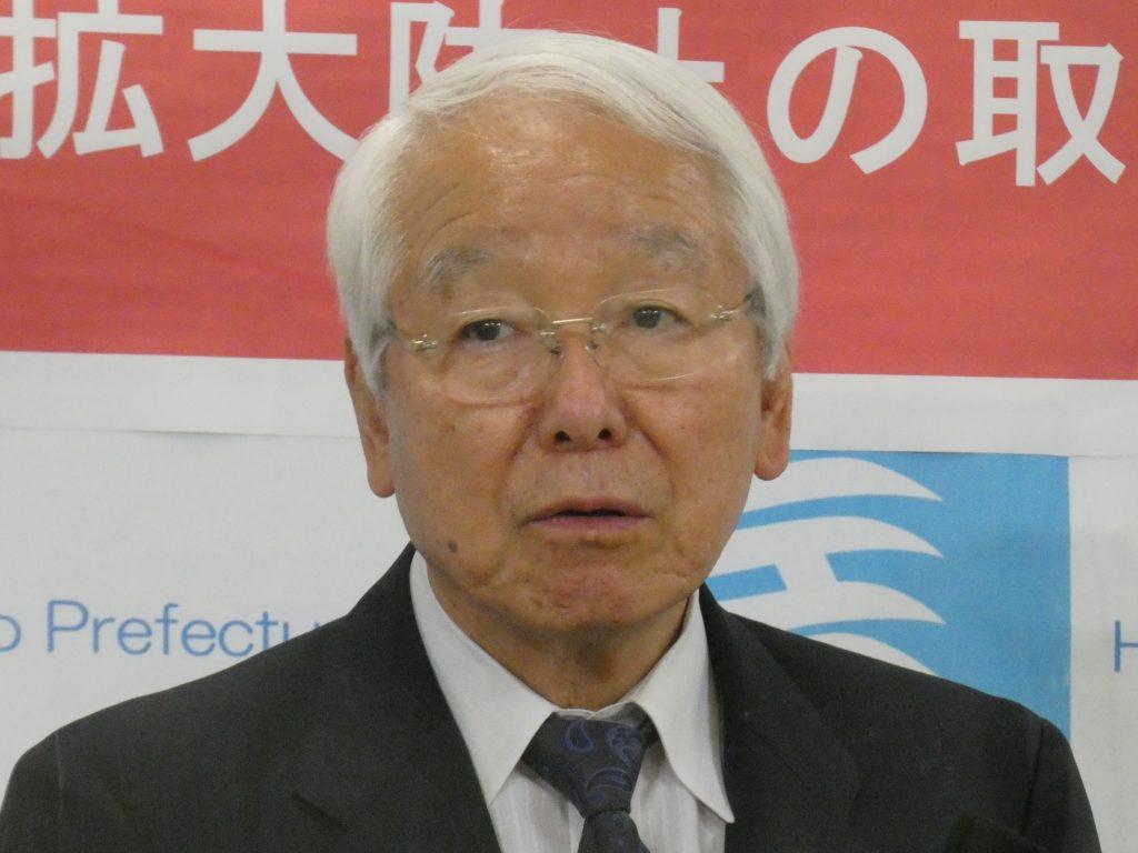 井戸・兵庫県知事「『路上飲み』のための酒の購入を控えてください、自粛してください」(6日午後 兵庫県庁)