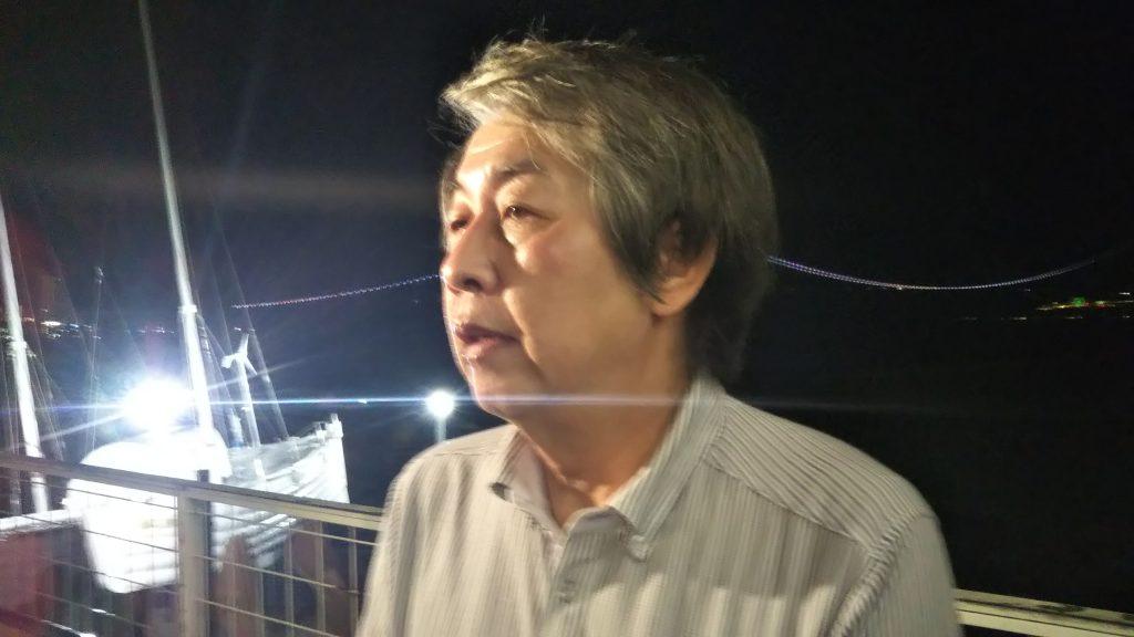 下村誠治さん<2020年7月21日撮影>
