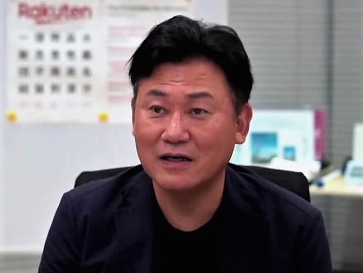 三木谷会長兼社長「自治体と連携したポイント付与はおそらく全国初の取り組みで、全国的な起爆剤に」(神戸市公式YouTubeチャンネルより)